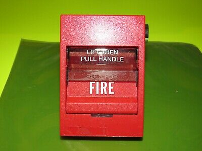 Edwards Est Siga-278 Dual Action Fire Alarm Pull Station