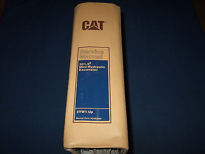 Cat Caterpillar 301.5 Mini Excavator Service Shop Repair Book Manual Sn 3yw1-up