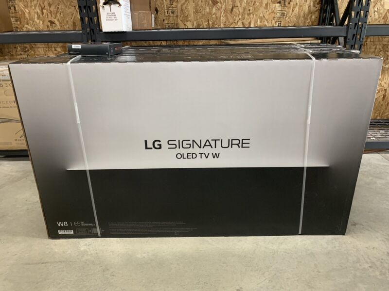 "LG 65"" Class OLED W8 Series 2160p Smart 4K UHD TV with HDR OLED65W8PUA"