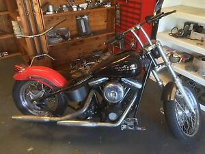Harley Hard Tail Basket Case Toowoomba Toowoomba City Preview