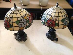 TWO BED SIDE LAMPS Petrie Pine Rivers Area Preview
