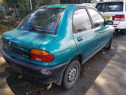 Mazda 121 Bubble 1994  4 door Now Wrecking Parts from $5