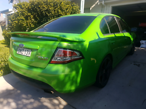 Fg xr6t turbo manual