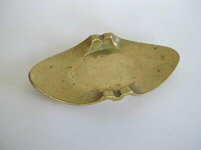 EDEL schöner Messing Bronze Aschenbecher Ascher