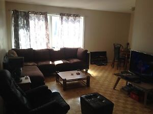 Room for rent + shared living spaces available April 1st.