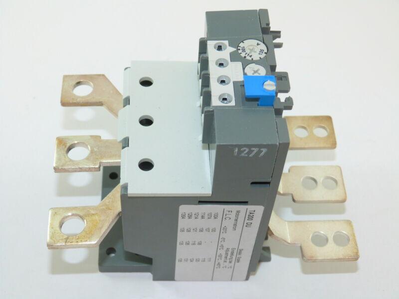ABB TA200DU-135 Thermal Overload Relay 100-135a NEW 1yr Warranty
