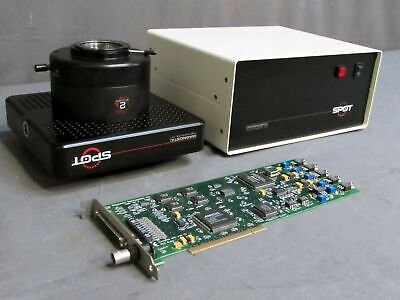 Diagnostic Instruments Spot Camera 1.4.0 W Power Supply Sp401-115 And Pci 0288