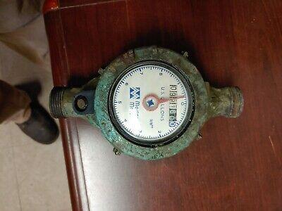 Master Meter Water Meter Vintage