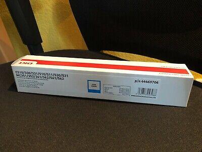 OKI Toner [original] Laser Drucker Kassette in CYAN / BLAU p/n 44469706 [NEU]