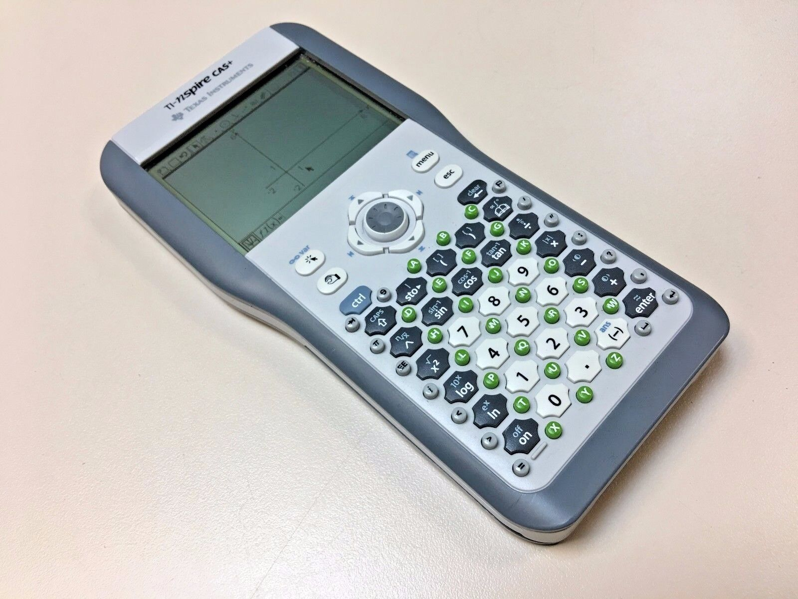 Texas Instruments Graphic Calculator TI NSPIRE CAS+ Prototype  RARE Testing unit