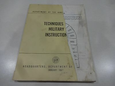 United States Army FM 21-6: Techniques of Military Instruction