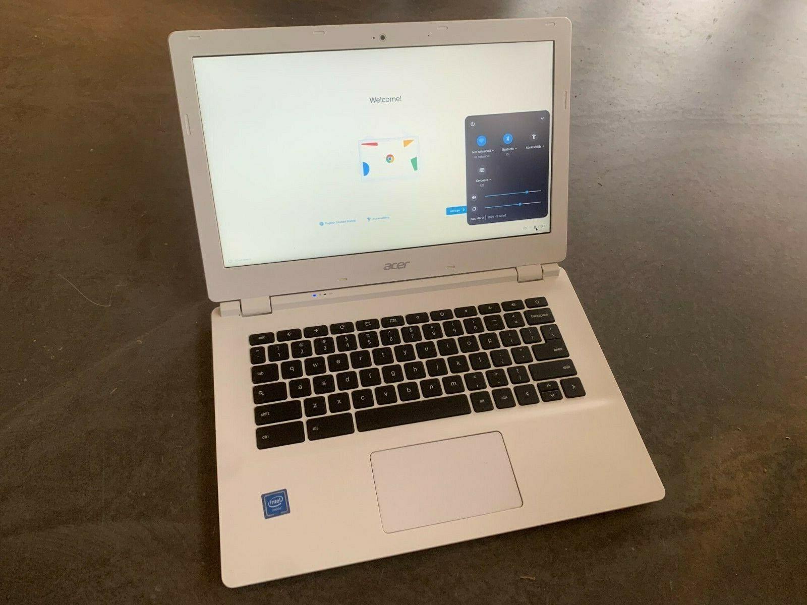 Acer chromebook 13 quad core 4gb ram 16gb emmc nvidia tegra chromeos