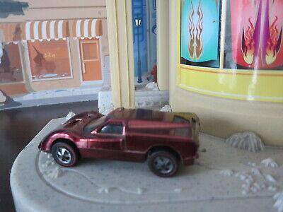 Vintage Hot Wheels REDLINE FORD J CAR CHOCOLATE BROWN US NICE