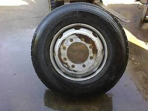 truck, bus or motorhome wheel and tyre 11R22.5 8 stud Capalaba Brisbane South East Preview