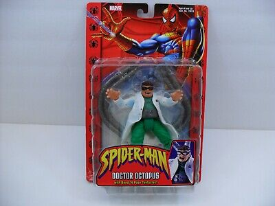 2002 ToyBiz Spider-Man Doctor Octopus Dr. Doc Oct Bend and Pose Tentacles - Spiderman Pose