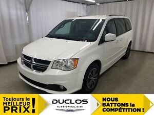 2017 Dodge Grand Caravan SXT Premium Plus*CUIR*A/C 3ZONES*BLUETO