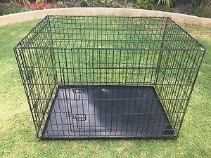XL Steel Compactible Pet Cage-Crate Ocean Reef Joondalup Area Preview