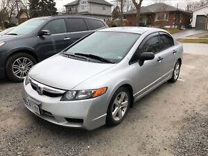 2007 Honda Civic LOW kms +Certified