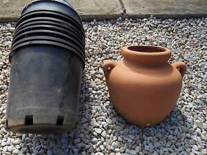 PLANTER POT CLAY Wall Hanging and plastic pots Lockleys West Torrens Area Preview