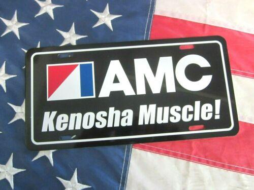 American Motors AMC LICENSE PLATE TAG 1968 1969 1970 1971 Javelin Kenosha Muscle