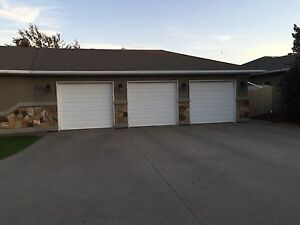 3x garage/ overhead/ roll up Insulated doors for sale