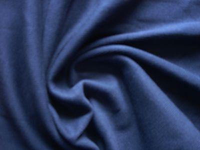 1 Lfm  Bündchenstoff 4,50€/m² BW Lycra  dunkelblau YA33