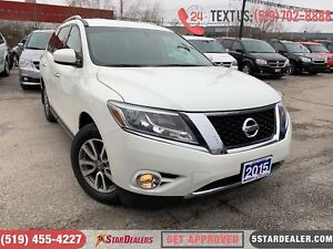 2015 Nissan Pathfinder SV | AWD | 7PASS | HEATED SEATS | 1OWNER