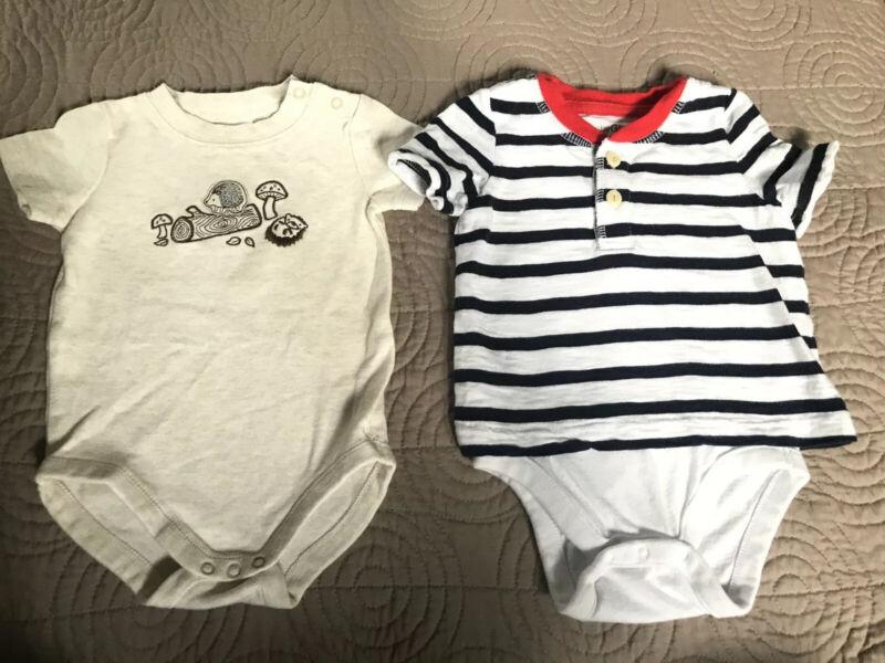Baby Boy Clothes 3-6 Months Summer Lot | Shortall Baby Gap & Quiltex | Euc