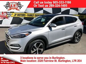 2017 Hyundai Tucson Limited, Leather, Panoramic Sunroof, AWD