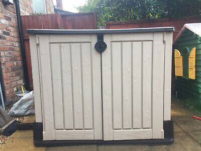 Keter Store-It-Out Midi Resin Shed - 130 x 110 x 74