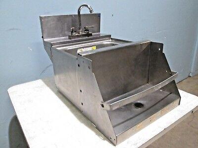 Perlick Tsd18blw Commercial Hd Modular Ss Nsf Bar Wash Sink Wblender Shelf