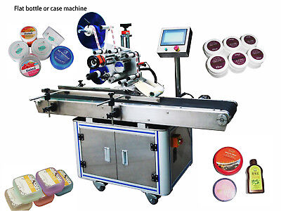Automatic Square Flat Bottle Adhesive Sticker Labeling Labeller Machine By Sea
