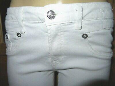 Amazing $358 R13 Italy BOY SKINNY White wash stretch jeans-Size 29 (8) x 28