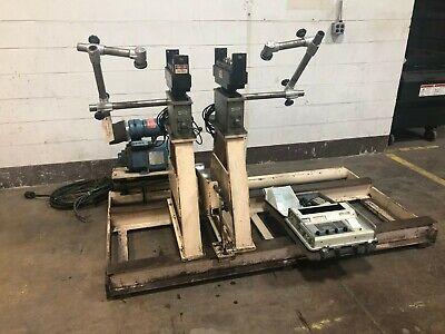 5000lb Ird Model 880 Soft Bearing Belt Driven Balancing Machine