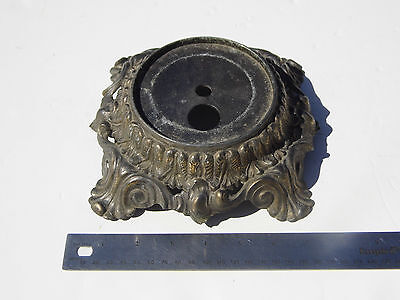 Vintage Ornate Footed L & L WMC 1971 Table Lamp  Base Part