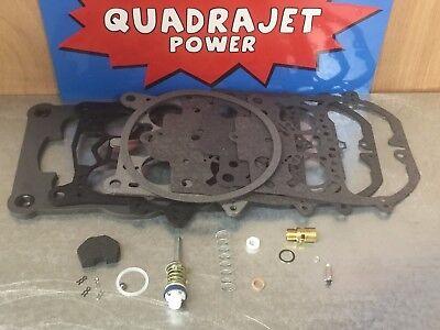 Quadrajet Premium Rebuild Kit.  Chevrolet 1973-74, Chevy GMC (Quadrajet Rebuild)