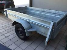 Box Trailer - Made to Last 7x4 Galvinised, Single axle, GVM 750kg West Leederville Cambridge Area Preview
