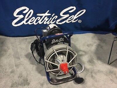 New Electric Eel Model EKR Drain Sewer Pipe Cleaning Machine Plumbing Snake