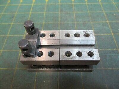 Machinist Tools V-block Pair 1-38 X 1-38