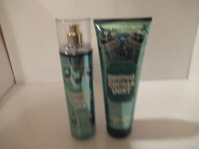 BATH & BODY WORKS CHRISTMAS COCOA AND MINT MIST CREAM LOT FREE -