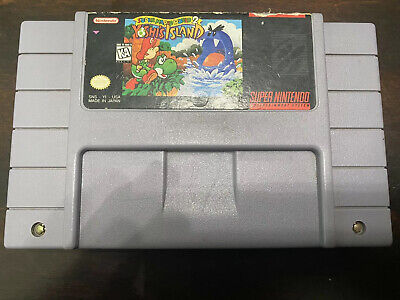 Super Mario World 2: Yoshi's Island Snes Super Nintendo Tested And Working