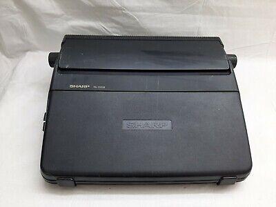 Sharp Pa 3100 Ii Portable Electronic Intelliwriter Typewriter Tested. Working