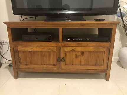 three piece gray wall unit with tinted glass doors   Entertainment ...