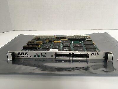 SBS Technologies 616-202, 85154538 Bit 3 Operations VME Board