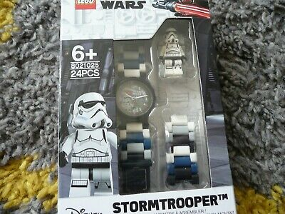 LEGO Movie 8021025 STAR WARS STORMTROOPER  BUILDABLE WATCH - NEW IN BOX