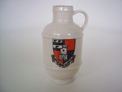 W H Goss Crested Ware Jug (City of Worcester)