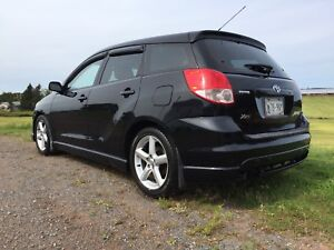 2003 Toyota Matrix XRS 6 speed. 2 sets rims and tires. No rust