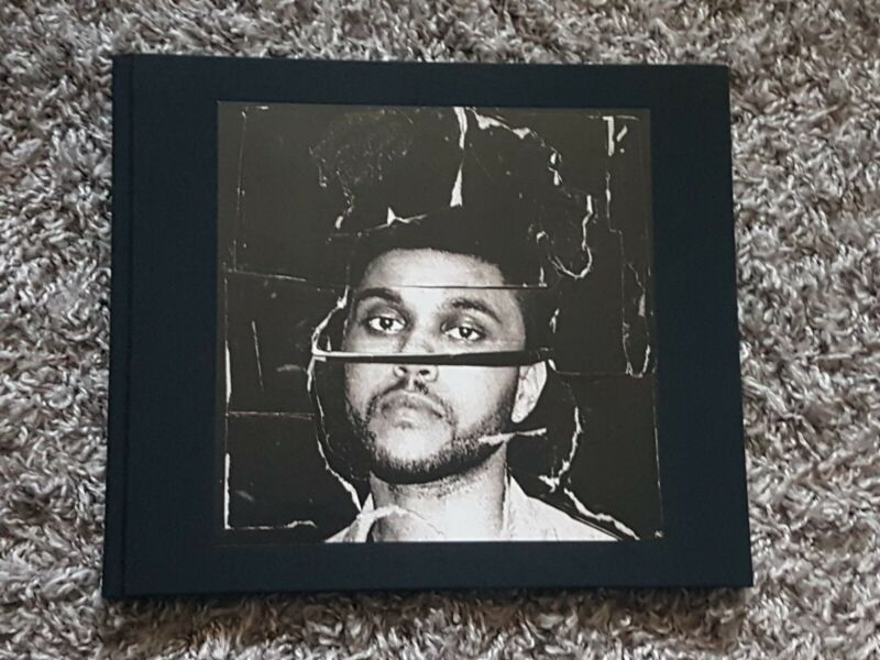 "The Weeknd ""Beauty Behind The Madness"" Signed Photo Book"