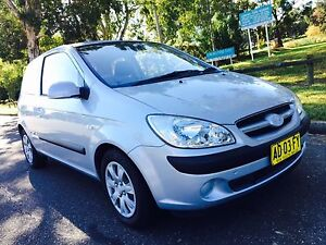 2007 Hyundai Getz Hatchback Long Rego Low Kms Silver Moorebank Liverpool Area Preview