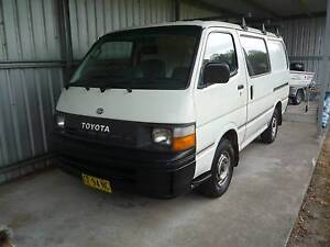 1993 Toyota Hiace Van/Minivan Tucabia Clarence Valley Preview